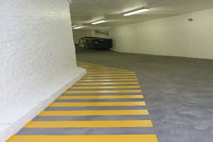 Paso peatones Parking C/ Muntaner